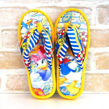 Disney Donald & Daisy Thong Slippers (Yellow)