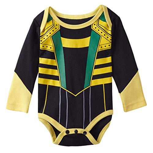 Nafanio Baby Bodysuit Infant Jumpsuit Halloween Costume]()
