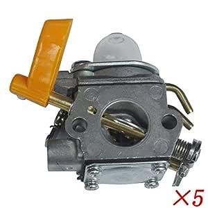 Generic 5 * ajuste para carburador Homelite Ryobi 25 cc 26 cc ...