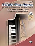 Premier Piano Express, Bk 4: All-In-One Accelerated Course, Book & Online Audio & Software (Premier Piano Course)