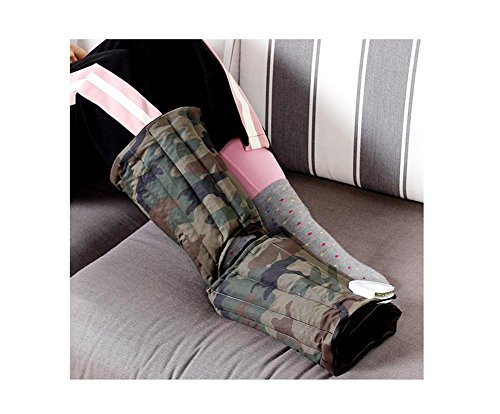 (DGS Electric Heating The Original Point Of Hot Pack, No Radiation Carbon Fiber Red Bean Bag, Intelligent Temperature And Timing Apply To Legs And Feet)