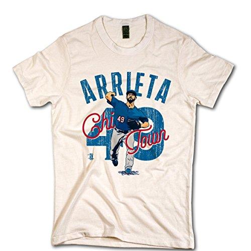 Jake Arrieta Arch Ivory XXL ()