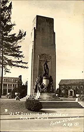 Amazon Com 91st Division Monument Fort Lewis Tacoma