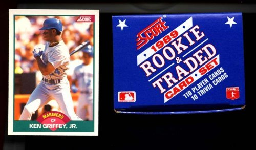 1989 Score Baseball Rookie & Traded Box Set Ken Griffey J...