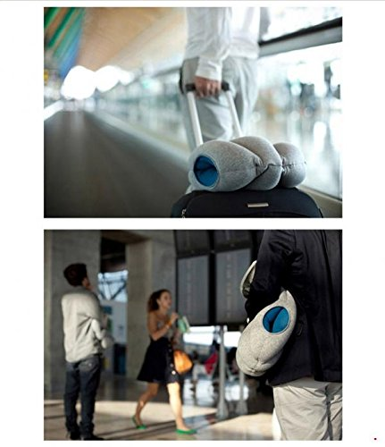 The magical ostrich pillow office the nap pillow car pillow everywhere nod off to sleep