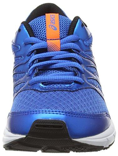 ASICS Gel-Zaraca 4 Gs - Zapatillas de running unisex Azul (Electric Blue/Hot Orange/Black 3930)