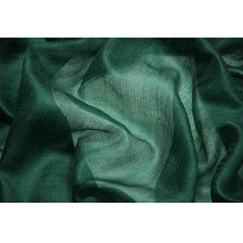 "Cashmere Scarf Women Pashmina Scarf-ZORJAR Ultra Shawls and Wraps 39""x94""(Blackish Green)"