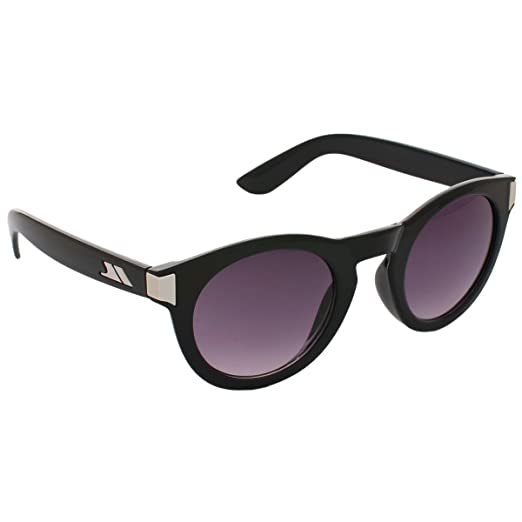 Trespass Adults Unisex Clarendon Tinted Round Sunglasses (One Size) (Black) 0228638570