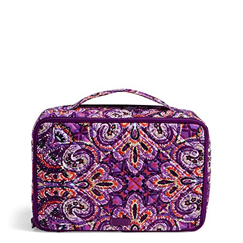 Vera Bradley Iconic Large Blush & Brush Case, Signature Cotton, Dream Tapestry