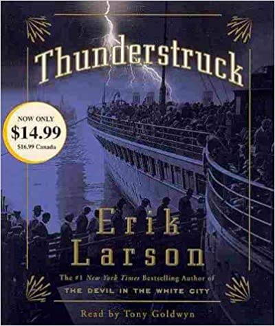 THUNDERSTRUCK By Larson, Erik M. (Author) Compact Disc on 25-Jan-2011