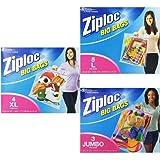 Ziploc Big Bag Storage Solution Multi-Size Combo Pack - Large, XL, Jumbo