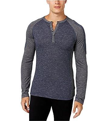Calvin Klein Men's Long Sleeve Henley Shirt,