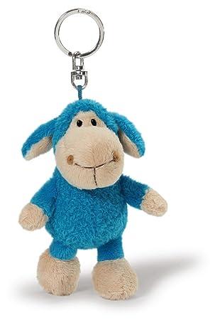 NICI - Llavero Bean Bag: Oveja Jolly Mäh, 10 cm, Color Azul (39256)