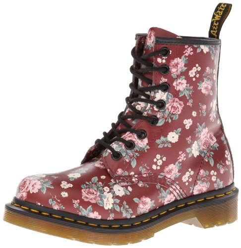 Airwalk - Botas militares, color: Black Vintage Rose Softy Rojo (Rouge (Cherry Red))