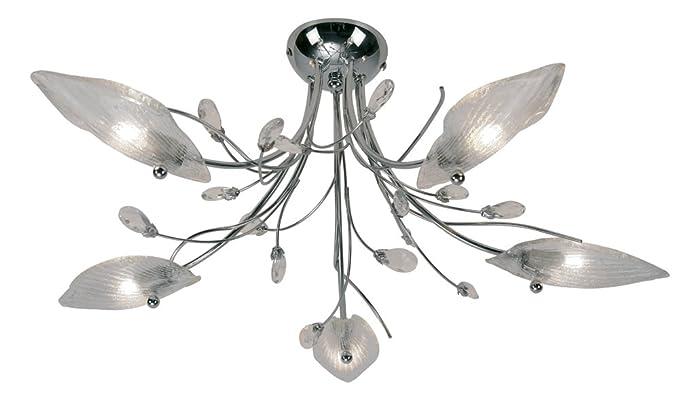 Oaks Lighting 2799/5 CH Cyprus - Lámpara de techo (5 luces ...