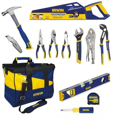 Industrial 26' Tool Box - Irwin Tools 1868997 Multiple Tool Set, 13-Piece