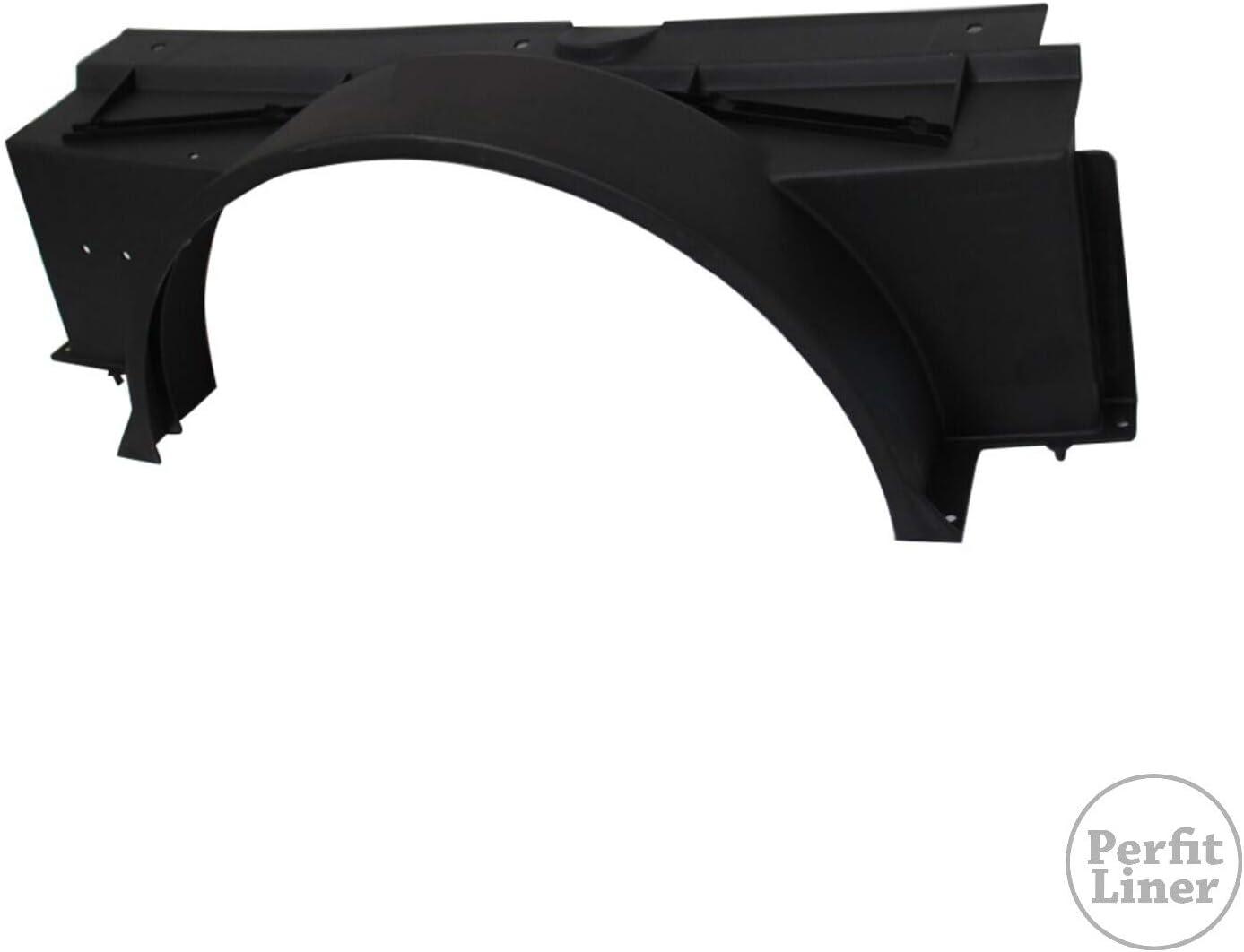 New Fan Shroud Upper For Chevy Suburban Chevrolet Tahoe Blazer 94 GM3110126 Fits 15739587