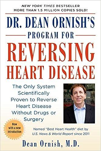 can heart disease be reversed by diet
