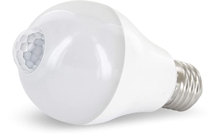 Lámpara LED con sensor de movimiento 360 ° + Sensor Crepuscular – tagesweiß (4200 K