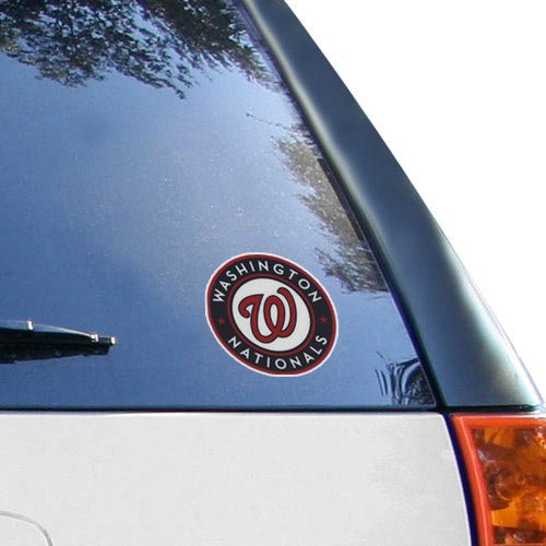 Window Baseball Clings (MLB Washington Nationals 3'' Small Window Cling)