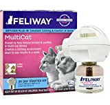 Feliway MultiCat Starter Kit & 30 Day Refill (48 ml), New!!