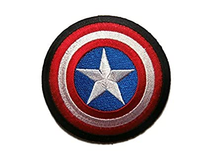 03754672c Image Unavailable. Image not available for. Color: Captain America The  First Avenger Shield Marvel Superhero Cartoon Logo Kid Baby Boy Jacket T  shirt