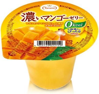 たらみ 濃いマンゴーゼリー0kcal 195g×6個