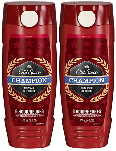 Old Spice Red Zone Body Wash - Champion - 16 oz - 2 pk (Champion Body Wash Old Spice)