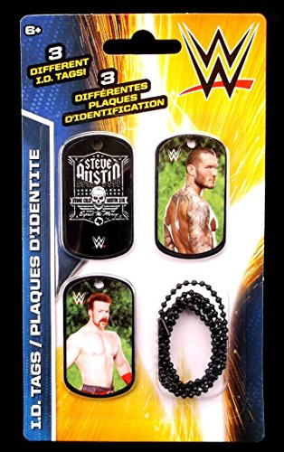 Wwe Dog Tags (WWE Wrestlers Randy Orton & Sheamus ID Dog Tags Series 2 - Set J - 3 Count)