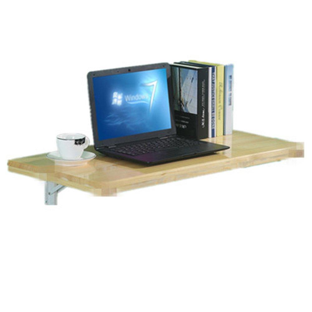 WNX Mesa Plegable de Madera en la Pared Escritorio Mesa Ahorro de Espacio en la Pared del hogar (Tamaño : 120  50cm)