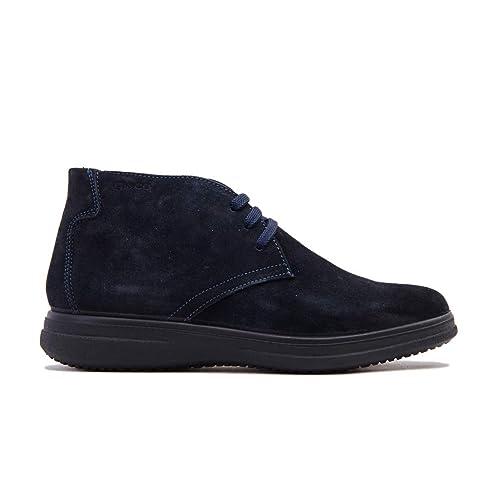IGI & CO 2117211 Botines Botines Zapatos Hombres Azul Gamuza