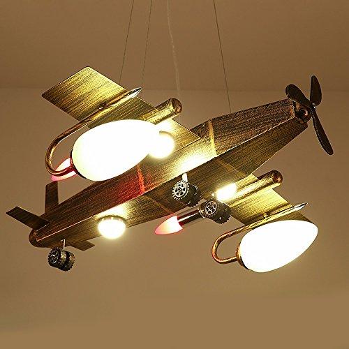 Industrial Wind Retro Chandelier Creative Bar Café Restaurant Clothing Shop Bedroom Iron Airplane Light