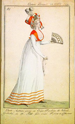 Costumes Parisien (Wall Art Print entitled Costumes Parisien 1817 By Horace Vernet 3 by Celestial Images | 29 x 48)