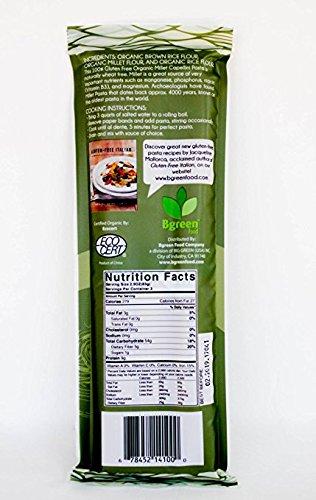 BGreen Organic Millet Angel Hair Capellini Pasta 3 Pack Non GMO Gluten Free Kosher