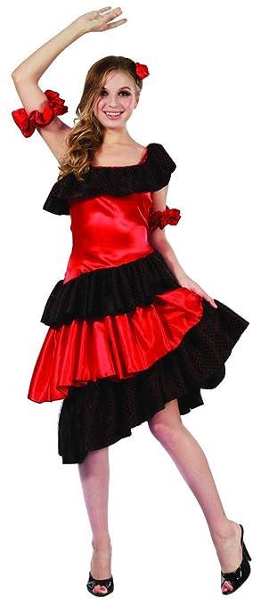 Disfraz flamenco mujer - S: Amazon.es: Juguetes y juegos