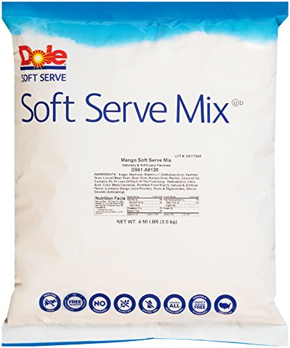 Dole Soft Serve Mix - Mango Dole Whip, Lactose-Free Soft Serve Ice Cream Mix, 4.50 Pound Bag - with By The Cup Rainbow Sprinkles by By The Cup (Image #3)