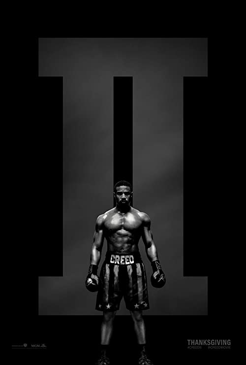 Creed II Movie Art Canvas Poster 12x18 24x36 inch