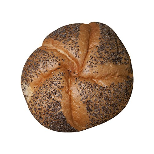 Three Brothers Bakery Kaiser Roll with Poppyseeds - 1 Dozen