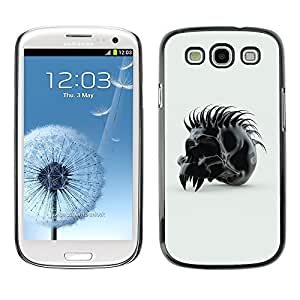 GagaDesign Phone Accessories: Hard Case Cover for Samsung Galaxy S3 - Spiked Skull