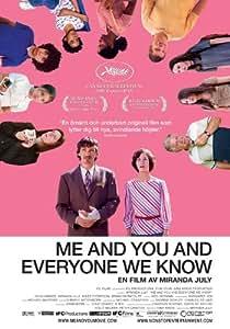 Me and You and Everyone We Know Poster Movie Swedish 11x17 John Hawkes Miranda July E.J. Callahan