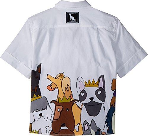 Dolce & Gabbana Kids Baby Boy's Short Sleeve Shirt (Toddler/Little Kids) White Print 2T (Toddler) by Dolce & Gabbana (Image #1)