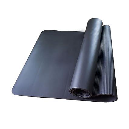 Amazon.com : FANFF Yoga mats Yoga Mat 10mm NBR Non-Slip ...