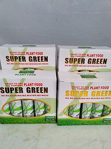 Jmbamboo - 40 Bottles of Super Green Green Lucky Bamboo Fertilizer Plant Food *New*