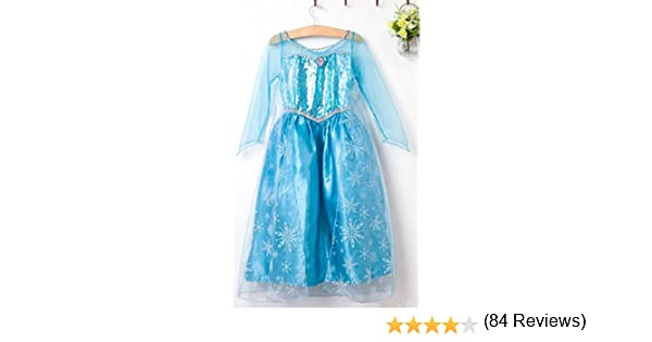 Amazon.es: Disfraz de princesa Elsa - Frozen