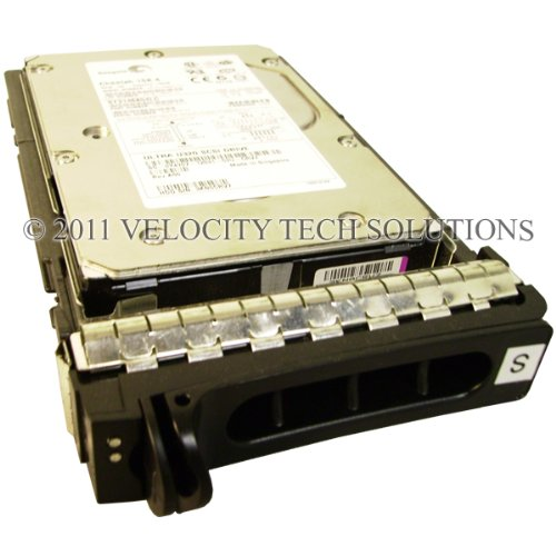 Dell Y4707 146GB 8MB U320 15K 80p SCSI Hard Drive in Poweredge Tray