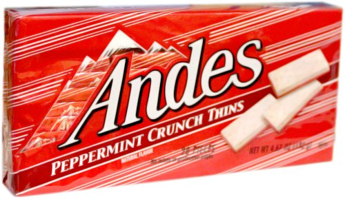 (Andes Peppermint Crunch Thins 4.67 oz)