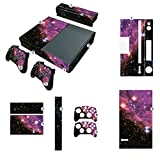 NDAD-New-Unique-Protective-Decals-Skin-Stickers-for-Microsoft-Xbox-One-Purple-Pink-Galaxy