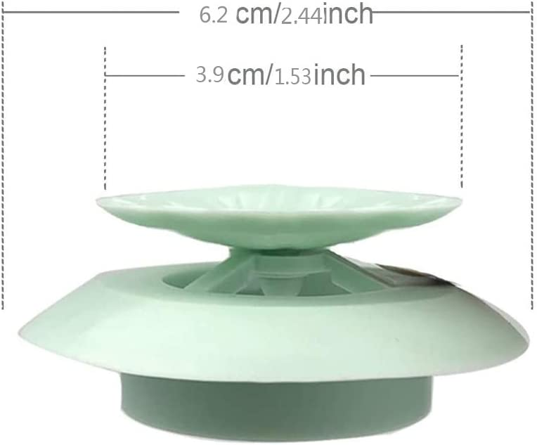 Shower Drain Stopper,Universal Bathtub Stopper Plug Cover,Hair Catcher Bathtub Drain,2-in-1 Strainers Protectors Cover for Floor,Laundry,Kitchen and Bathroom,3Pcs