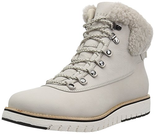 Cole Haan Womens Grand Explore Hiker Leather Closed Toe Ankle Cold Weather Bo. Pumice Stone