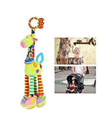 NUOLUX Stroller Car Seat Toy Kids Baby Bed Crib Cot Pram Hanging Giraffe Toy Pendant with Ringing Bell(Random color) BOBEBE Online Baby Store From New York to Miami and Los Angeles
